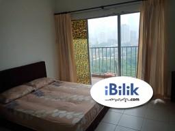 Room Rental in Kuala Lumpur - Middle Room with BIG Balcony at Suria Jelatek Residence, Ampang Hilir near LRT JELATEK AMPANG PARK KLCC GLENEAGLES INTERMARK