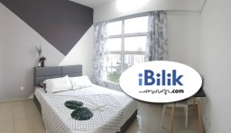 Room Rental in Malaysia - Comfortable Clean Private bathroom Master Room at The Zest, BK9, Bukit Jalil, Kuala Lumpur