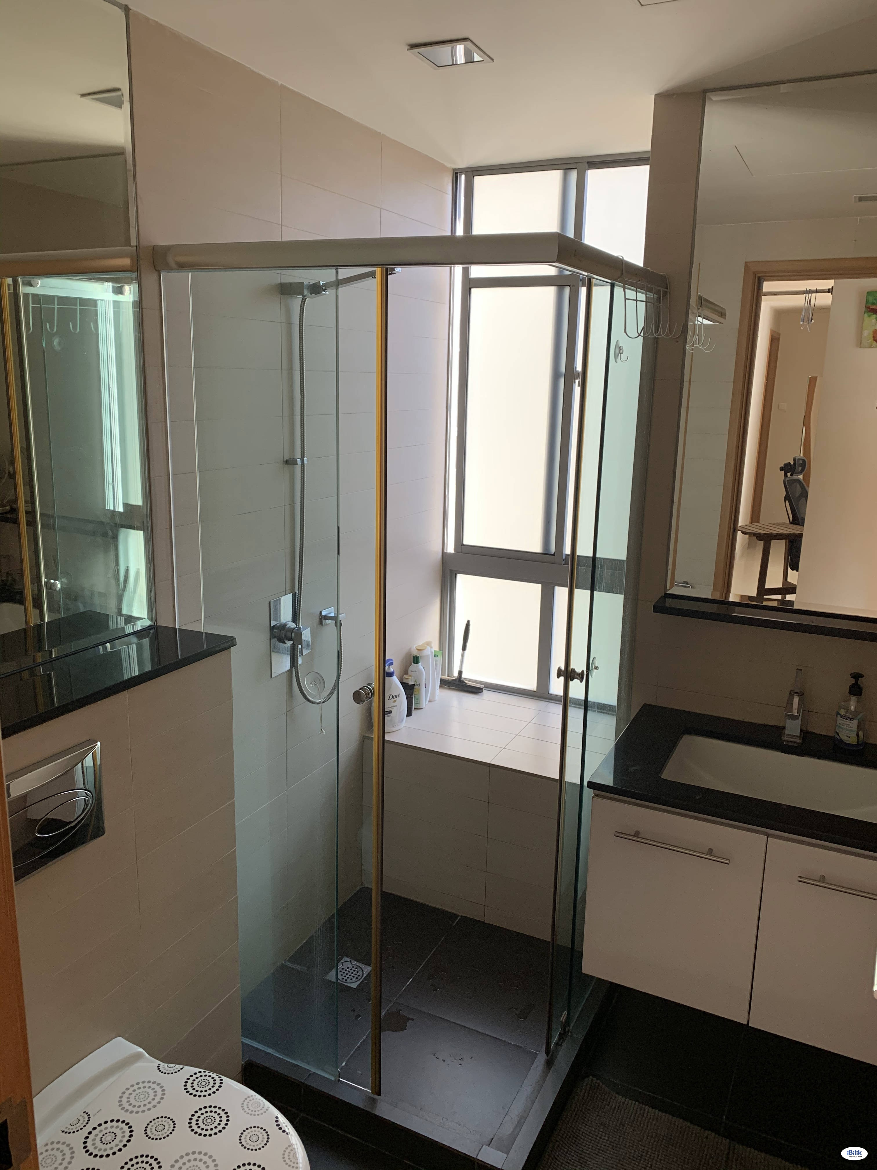 Spacious room with pool view & new mattress @Aljunied (all-inclusive); bright, quiet; no agent fee