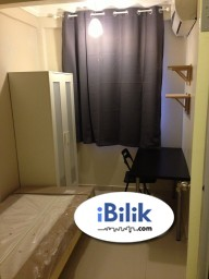 "Room Rental in Petaling Jaya - Fully Furnished Single Room at Sunway Court, Bandar Sunway "" Included All Utilities """