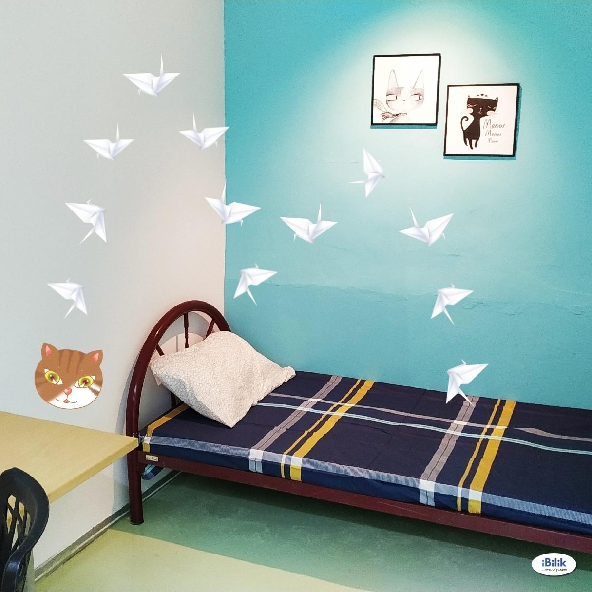 Single Room at Merlimau, near Politeknik Merlimau, TNB KFC Secret Recipe Industrial Merlimau & Jasin