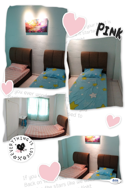 Queen Size Bed Room at Bandar Melaka, Melaka near Melaka Sentral, AEON Melaka, General Hospital, Lorong Pandan, Tengkera, Bachang