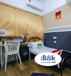 Room Rental in Petaling Jaya - ❄ AC single room fully furnished cheap room for rent walkable to Starling mall welcome personal welcome group move in have special rental discount 🏡