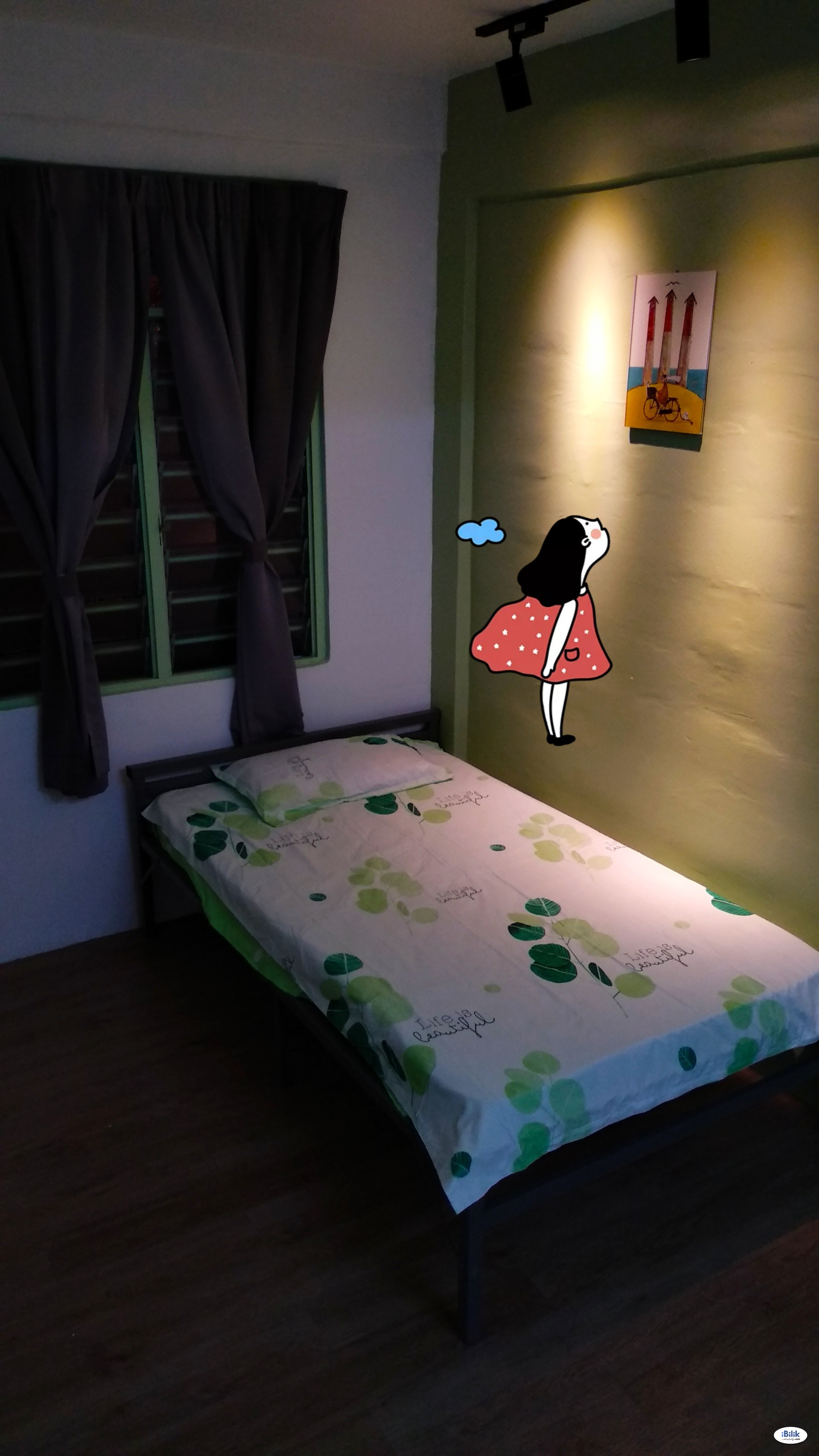 Single Room at Sun Power Honda AUO Puspakom Harimau United Detergent Rembia Alor Gajah, Melaka