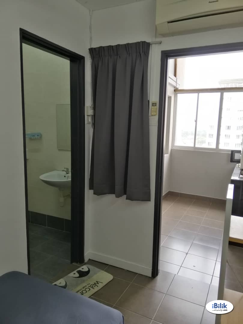 ✨PRIVATE BATHROOM✨ Free 1 month rental l Fully furnish Single Room at Cova Villa, Kota Damansara