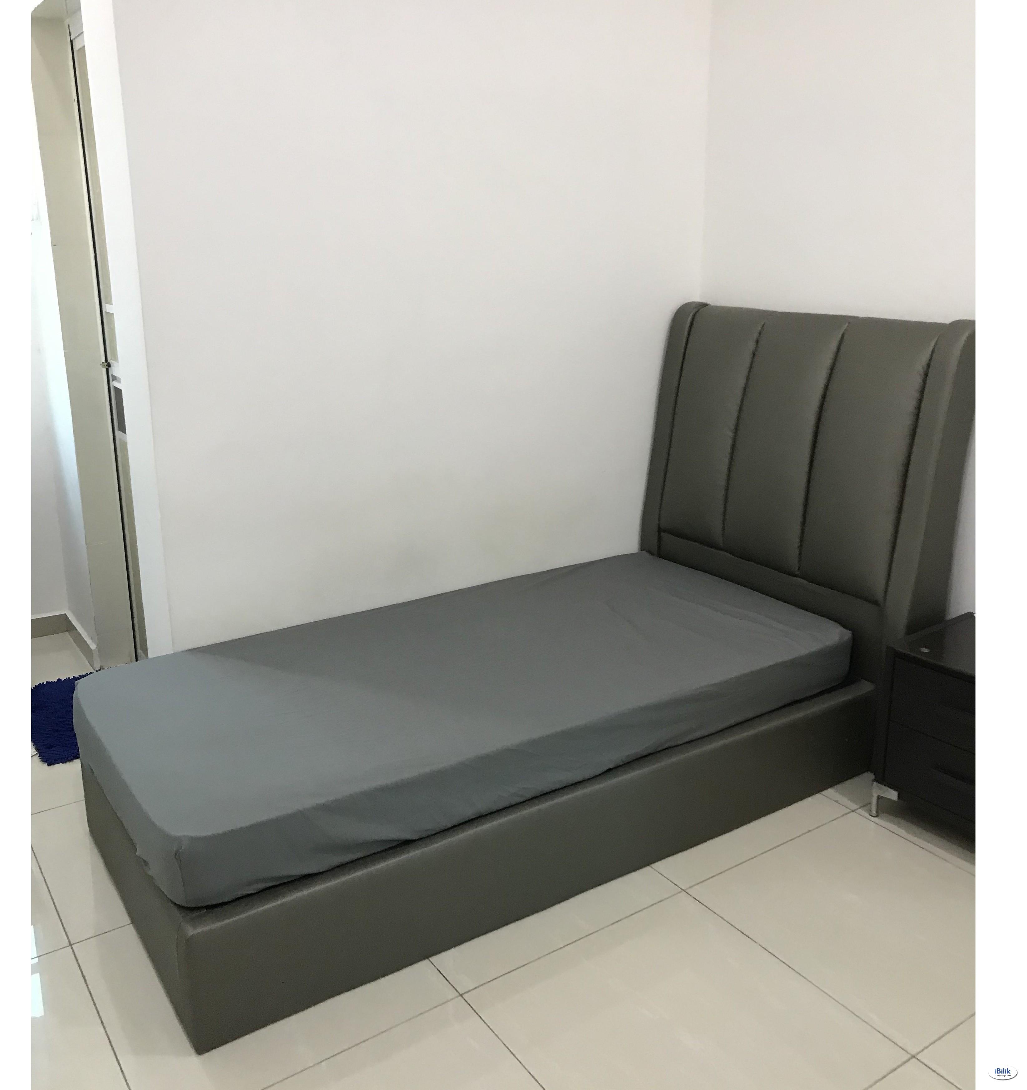 sg nyior Air-con Single Room Full Furnished at Butterworth, Seberang Perai