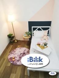 Room Rental in  - Newly refurbish Unit TTDI MRT Station. Medium Room for rent