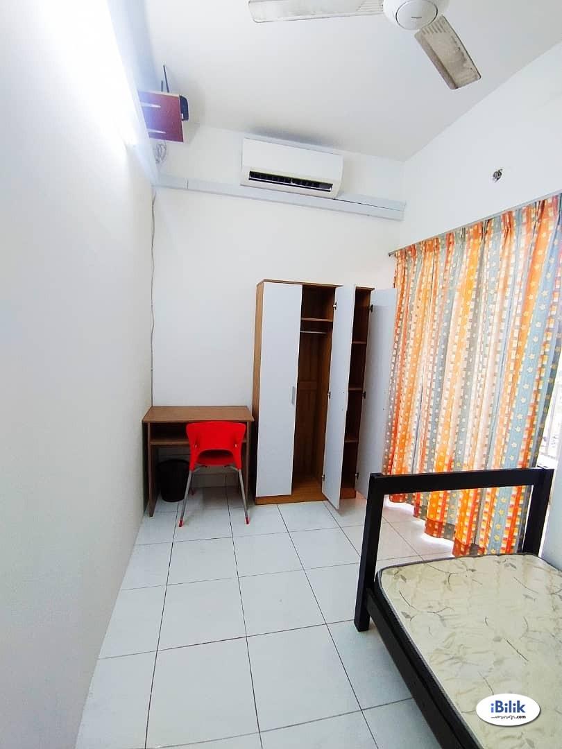 ⚡️  Free Utility ⚡️ Single Room at Pelangi Utama, Bandar Utama