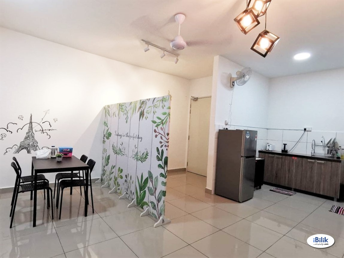 [ALL IN] Single Room at Parkhill Residence, Bukit Jalil (near LRT, TPM, Astro)