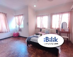 Room Rental in  - High Speed WI-FI ⚡ Master Room at Jalan Sepah Puteri, Kota Damansara, Petaling Jaya Near Thomson Hospital, SEGi University