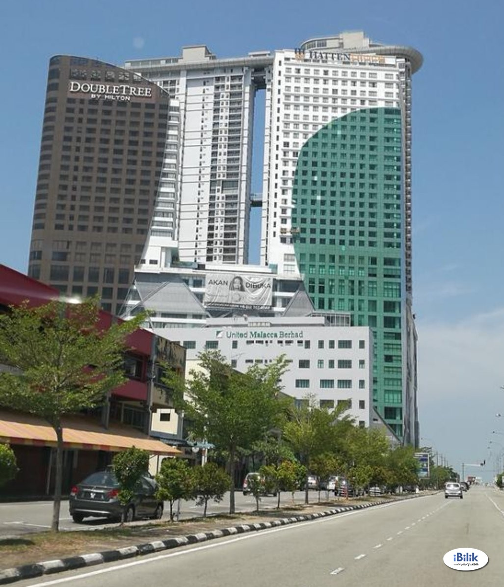 Studio Unit @ Silverscape / Hatten City, Melaka Raya / Bandar Hilir