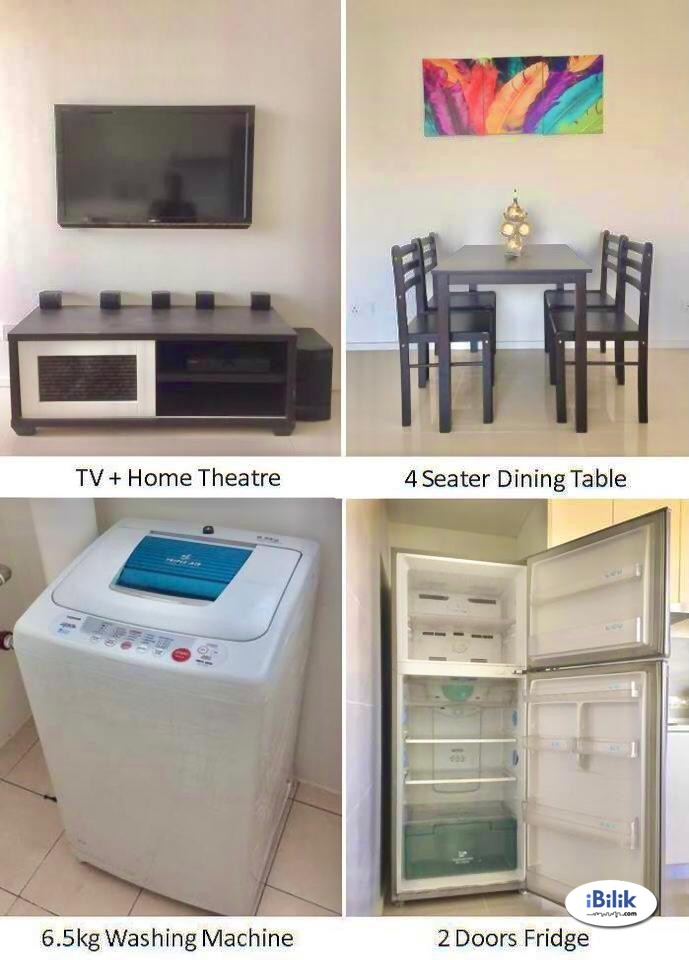 FULLY FURNISHED WITH INTERNET WIFI