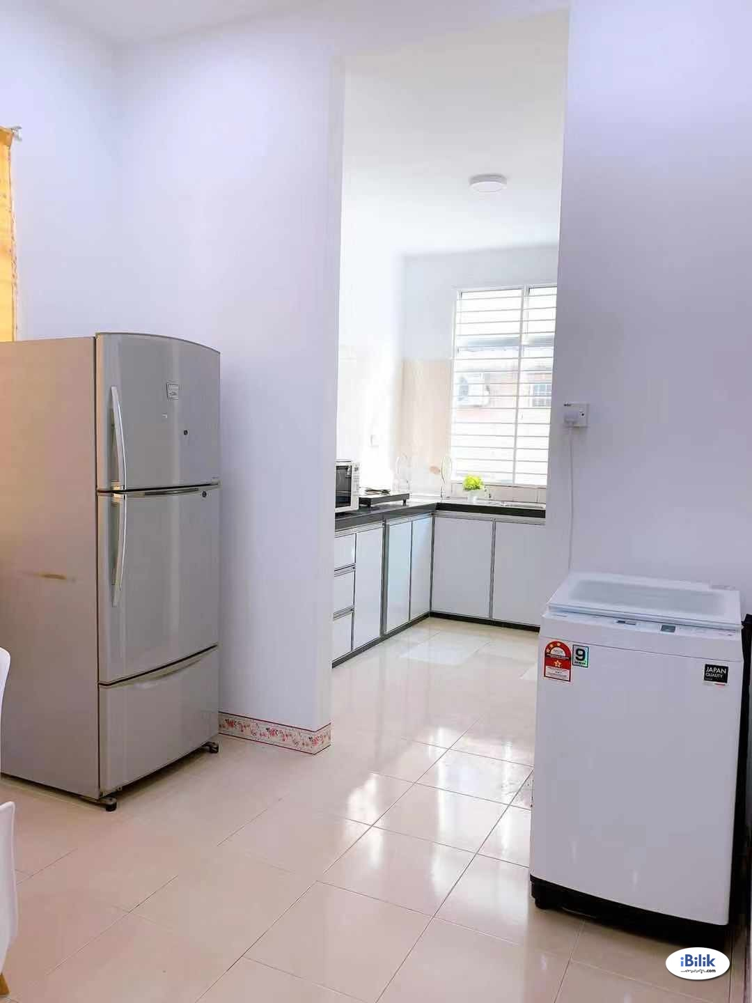 Single Room, air-con, female only
