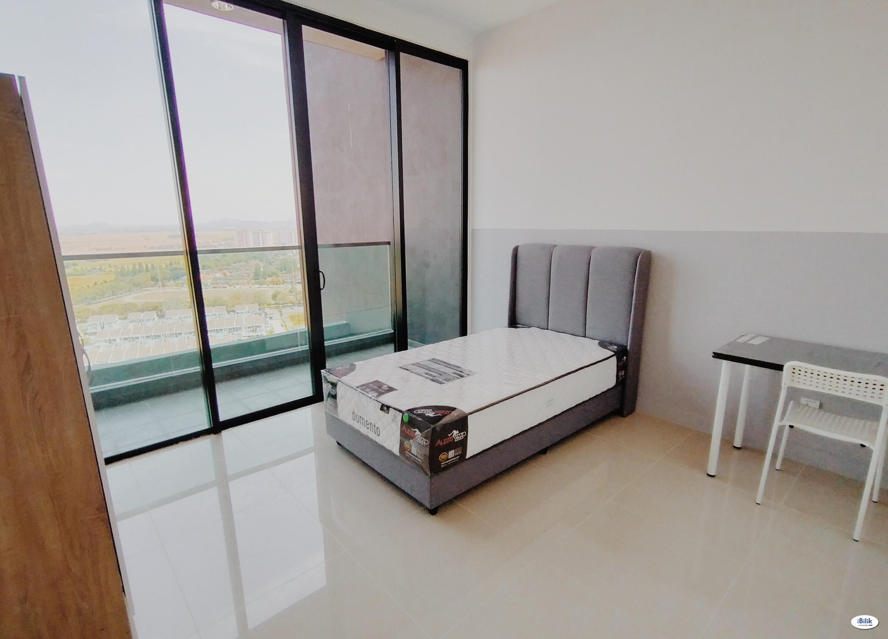 Evoke Residence - [ Balcony Room ] Fully Furnished at Seberang Perai, Penang