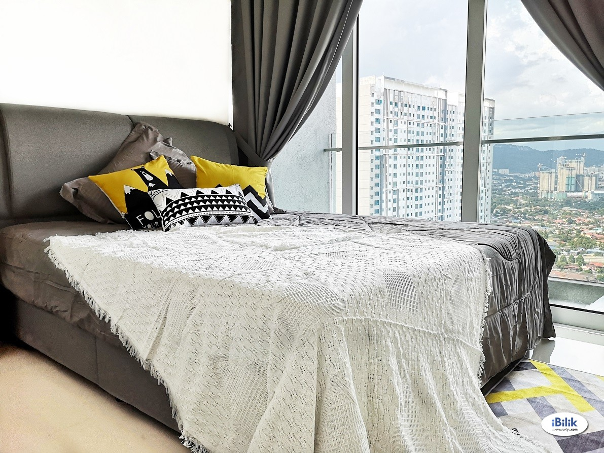 Middle Room at Sentul Point Suite Apartments, Sentul