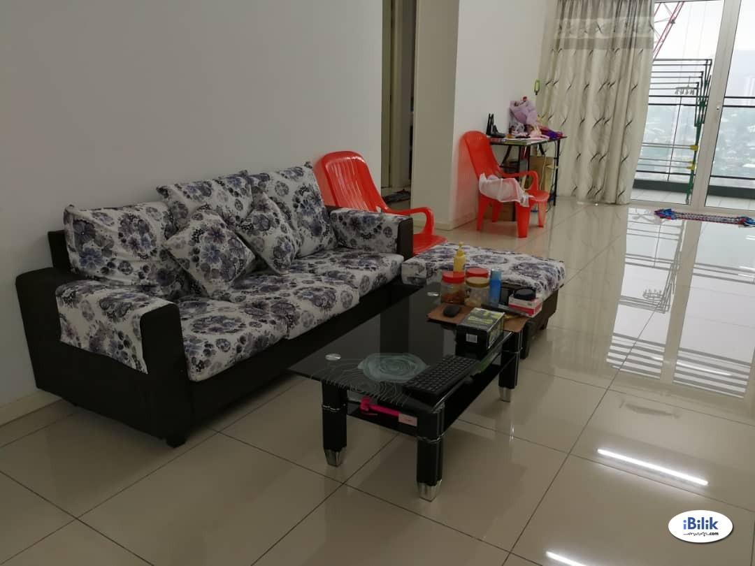 Middle Room at 288 Residency, Setapak