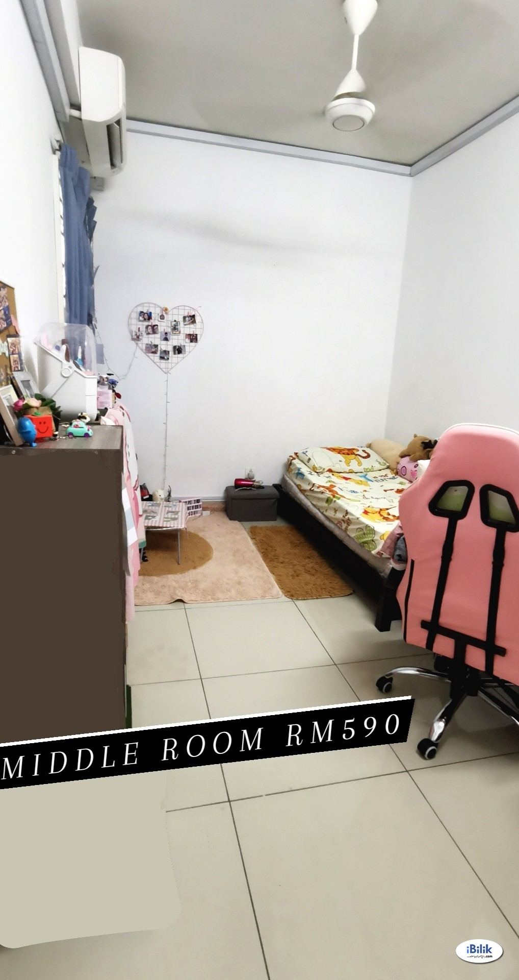 Promo - FEMALE UNIT Middle Room 中房 at Casa Residenza, Kota Damansara