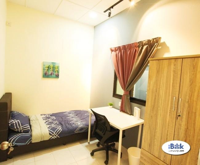 Cozy Single Bedroom at Bandarhilir, Near Melaka raya,General Hospital,kota laksamana, Semabok
