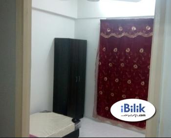 Fully Furnished Room at Pangsapuri Seri Indah near KTM Serdang & Mines