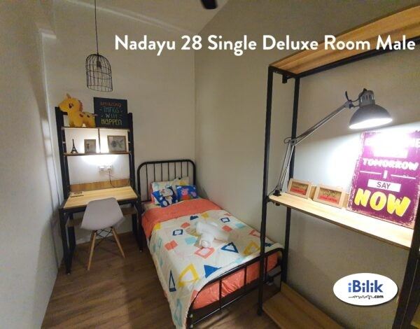 Available now  ZERO DEPOSIT--EXCLUSIVE FULLY FURNISHED AIRCOND SINGLE ROOM @ SS15