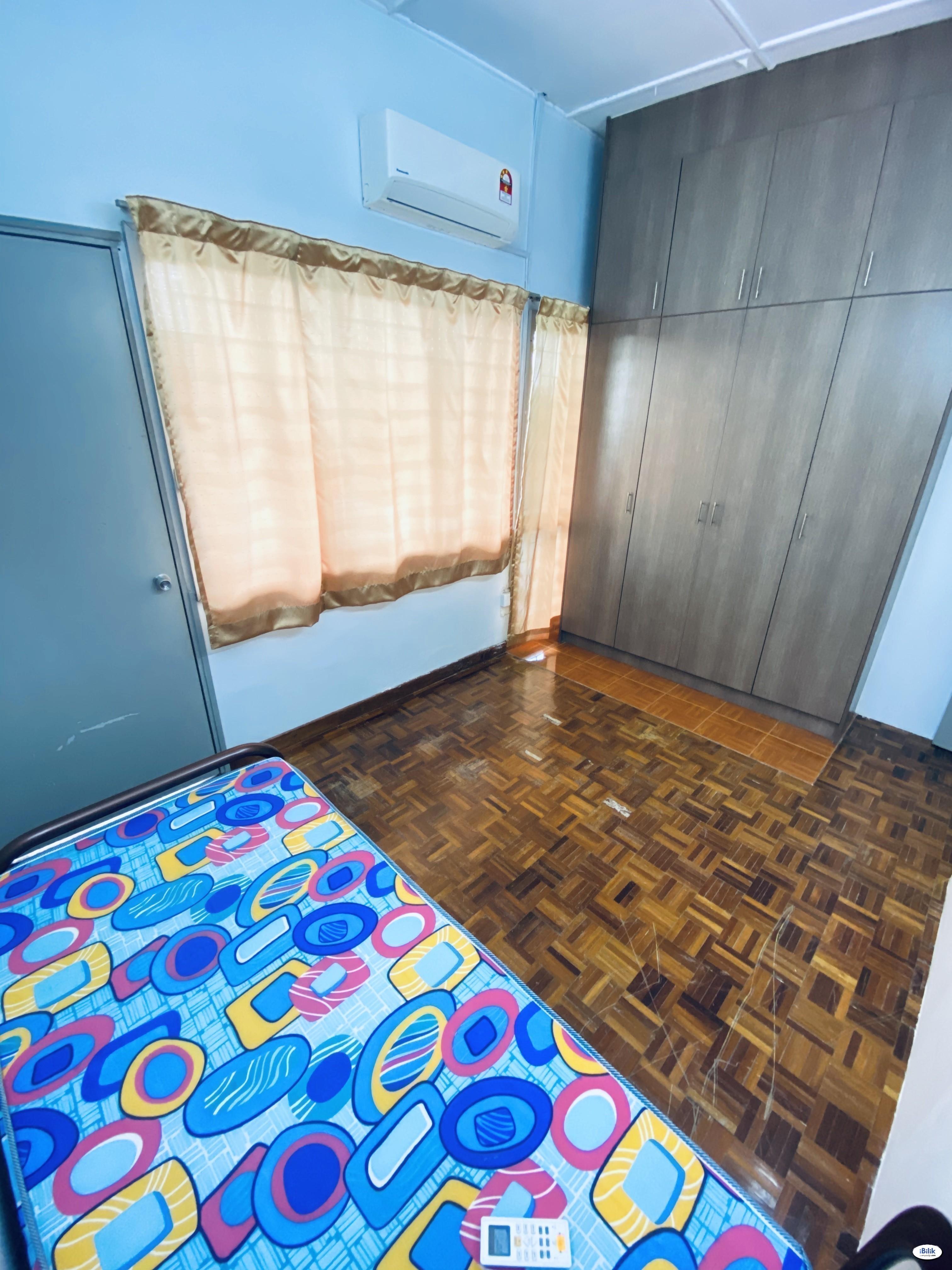 Zero Deposit % Middle Room at Taman Bukit Mayang Emas, Kelana Jaya Near Kelana Jaya LRT