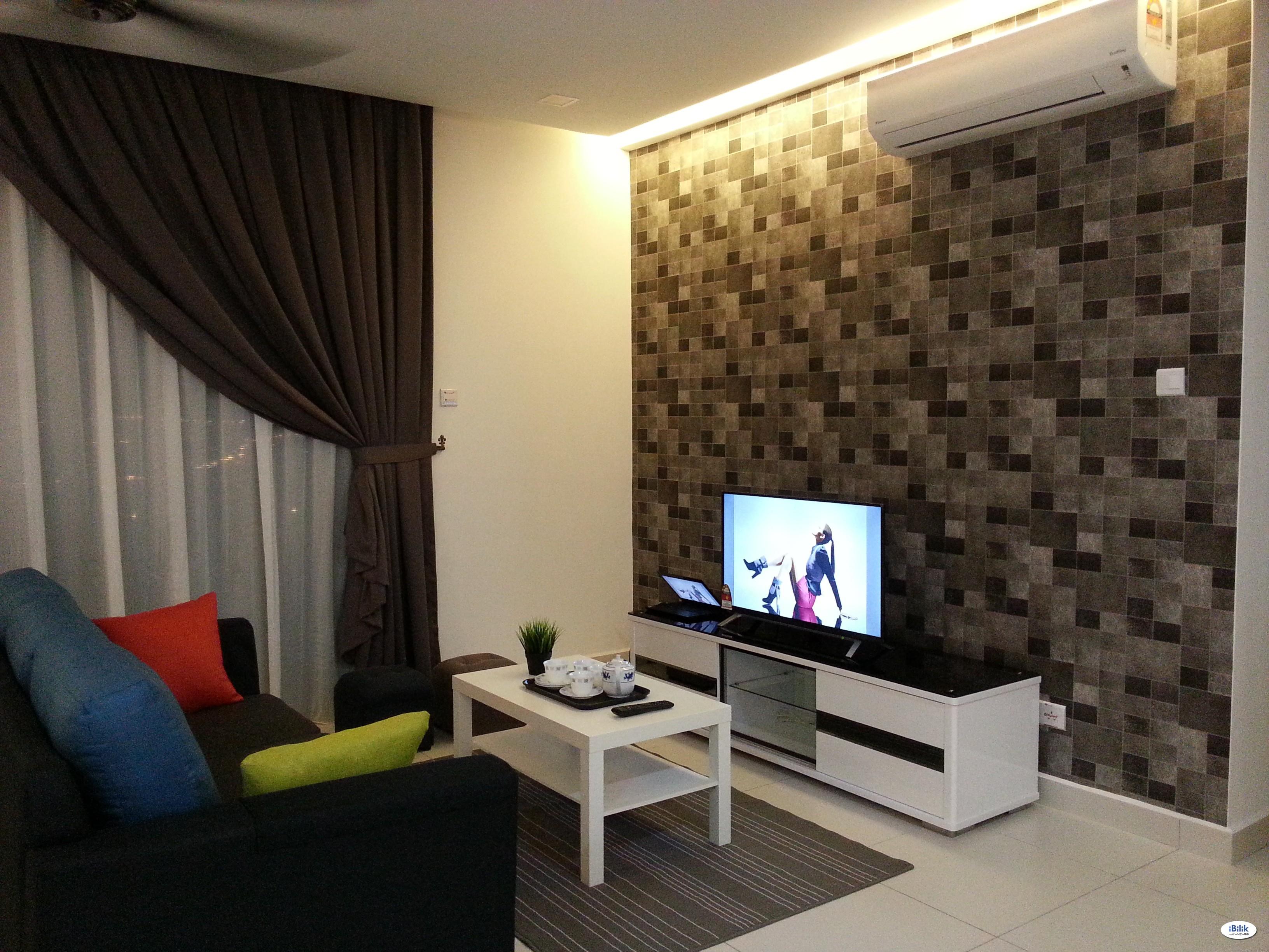 Middle Room at Cristal Residence, Cyberjaya