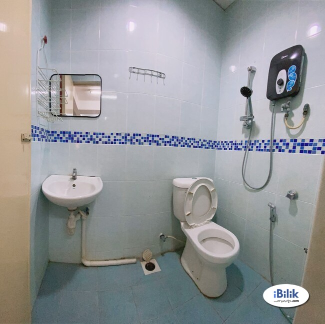 comfy  NO DEPOSIT - SINGLE BEDROOM IN SS15 SUBANG JAYA