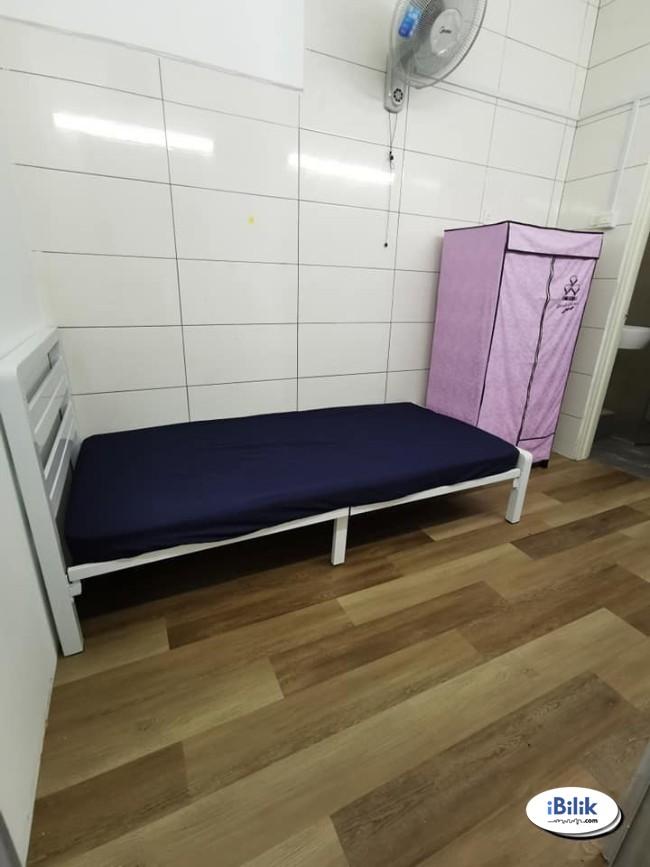convenience Zero% Deposit. Single Room at Taman Wawasan, Pusat Bandar Puchong