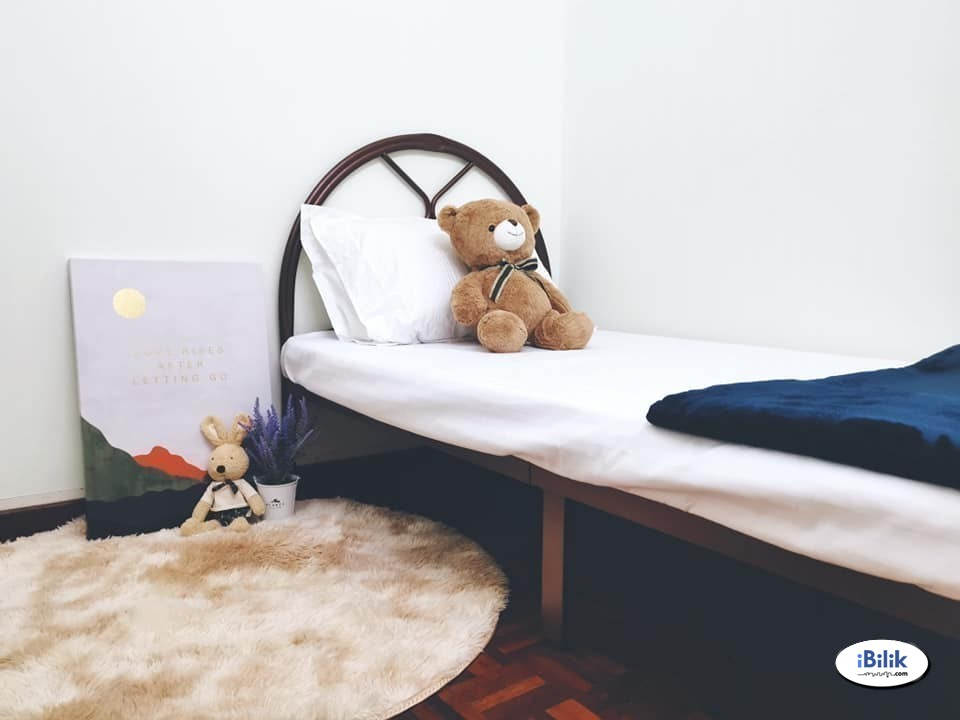 Zero Deposit ⭕ Single Room at Bandar Puchong Jaya, Puchong