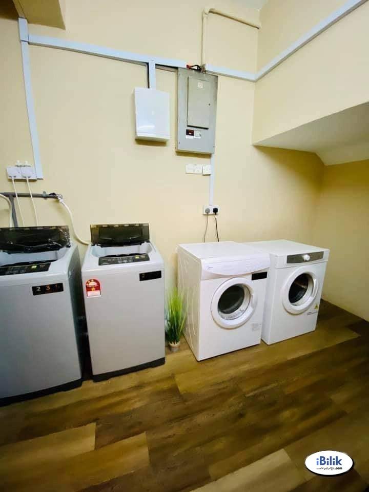 Single Room in Puchong Jaya 💥 Low Deposit 💥  With 130 meter Walking Distance to LRT IOI Puchong Jaya