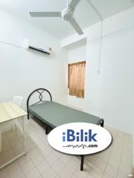 Room Rental in Kuala Lumpur - Zero Deposit Only ⚡ Middle Room Taman Connaught, Cheras