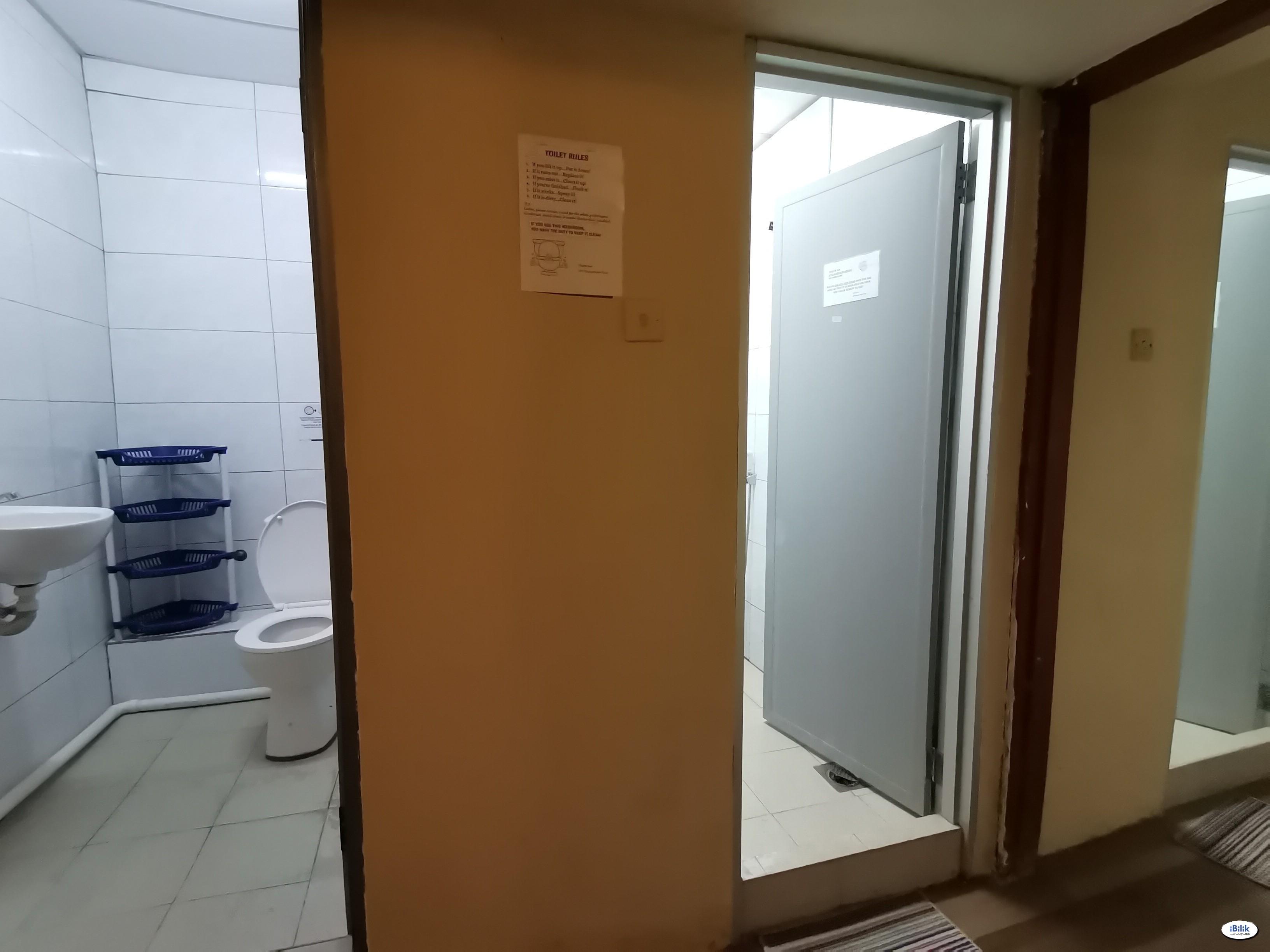 ⚠️ 1 month Deposit ⬅️ 5 Mins Walking Kelana Jaya LRT Station ⚡Single Room in SS4, Kelana Jaya