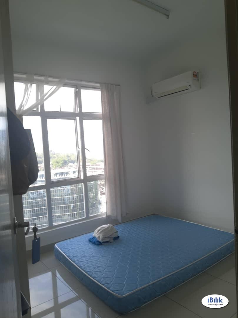 Muslimah wanita sahaja - Middle Room at D Tasek Service Apartment, Johor Bahru - Muslimah Female Only / wanita muslimah sahaja