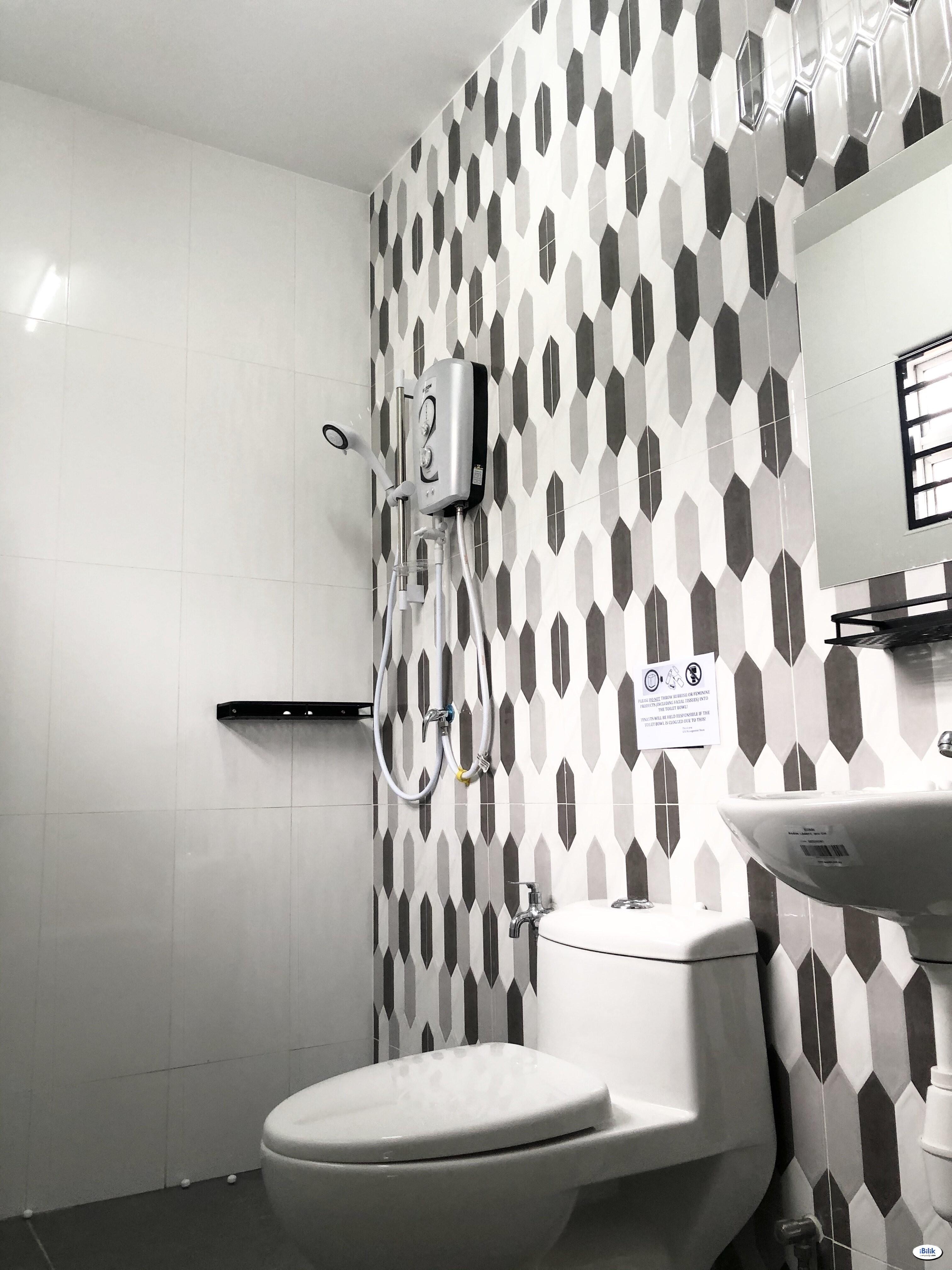 RM1 FOR 2nd Month 🚀 Middle Room Dataran Sunway, Kota Damansara