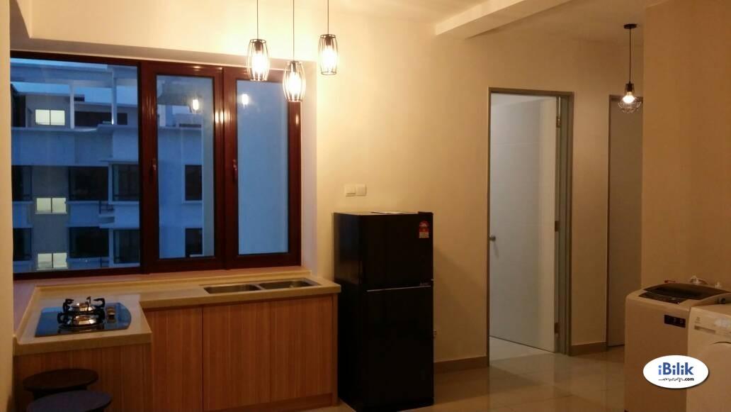 Middle Room at Rafflesia Sentul Condominium, 300 meters walking distance to LRT Sentul Timur