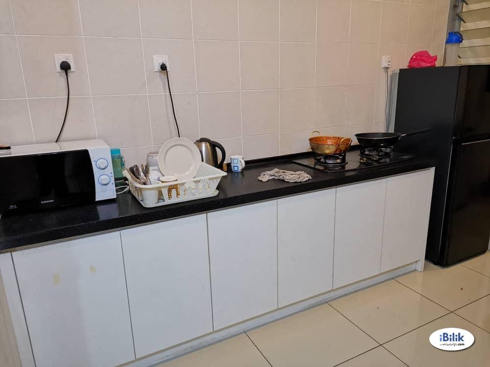 Master Room at Rafflesia Sentul Condominium, 300 meters walking to LRT Sentul Timur