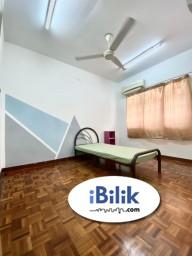 Room Rental in Selangor - Middle Room at SS2, Petaling Jaya with WiFI Near LRT Station, Taman Megah