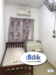 Room Rental in Subang Jaya - FREE HIGH SPEED WIFI  / FREE CLEANING SERVICE  - Middle Room for Rent at USJ11, Subang Jaya
