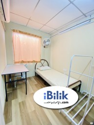 Room Rental in Petaling Jaya - Small Room for Rent at SS4 Kelana Jaya