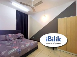 Room Rental in Kuala Lumpur - Middle Room at PV12, Setapak, Close to Setapak Central, Free WIFI+Utilities+Cleaning Service, Fully-Furnished