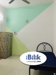 Room Rental in Selangor - 👉🏻 No DEPOSIT ❌ Middle Room at Alam Impian, Shah Alam with WIFI 📶