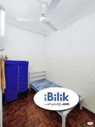 Room Rental in Petaling Jaya - 0% Deposit 🌈First City University College / Single Room at BU7, Bandar Utama with Low Deposit 🌈