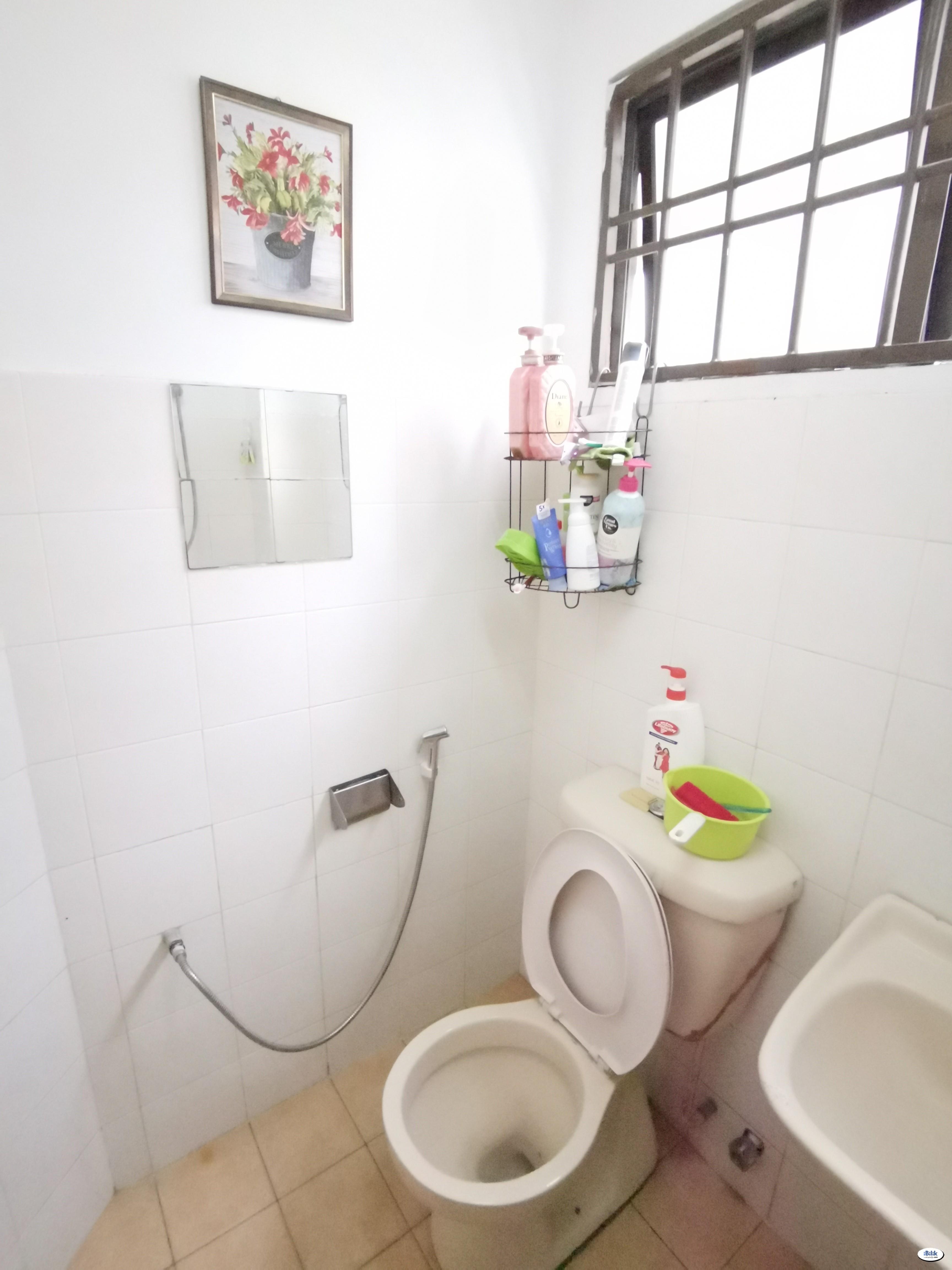 💥 Short Term are Welcome 💥 Single Room at BU3, Bandar Utama Near MRT Bandar Utama