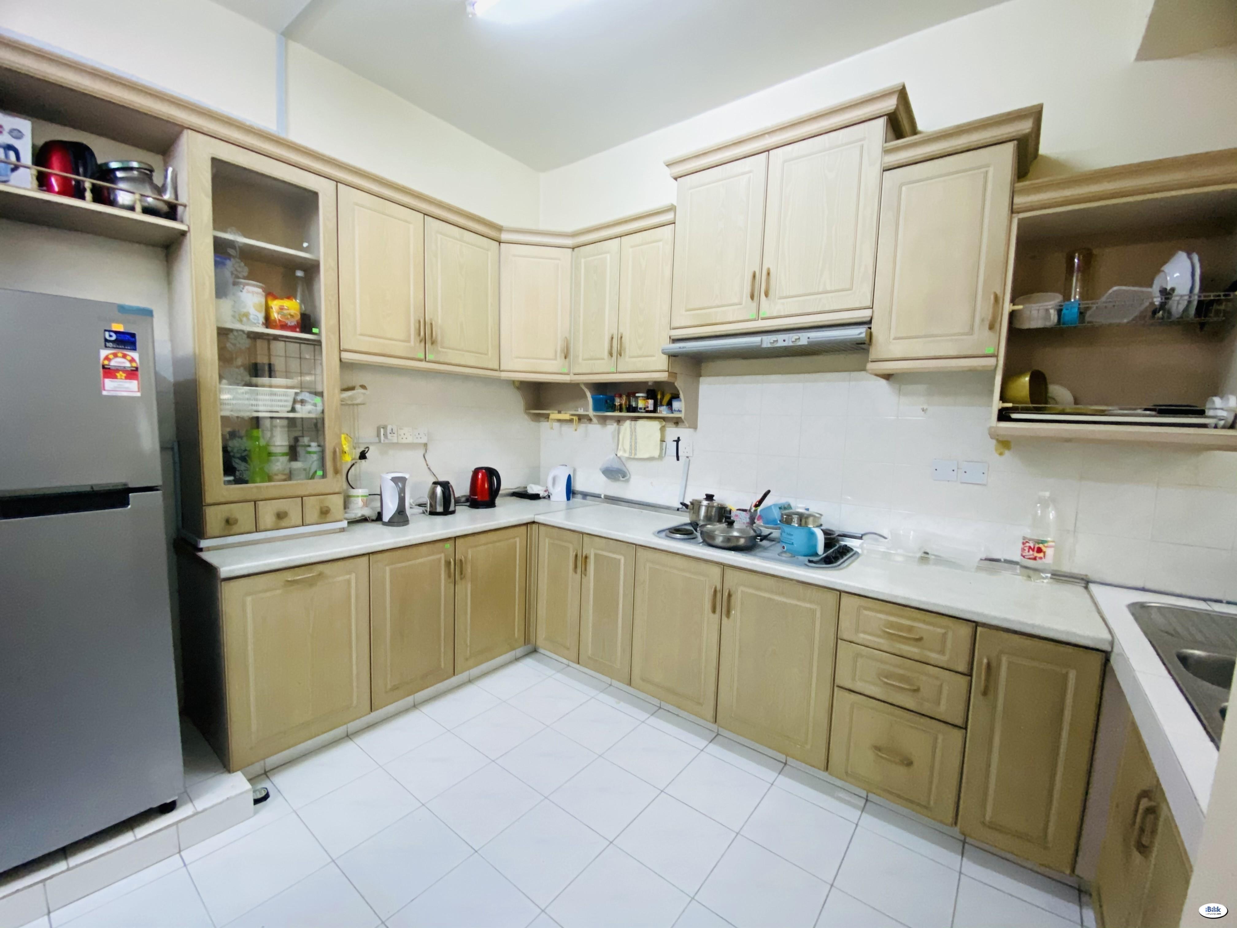 1+1 Depo 💥 Single Room at BU7, Bandar Utama, PJ Near Sunway Damansara, First City University