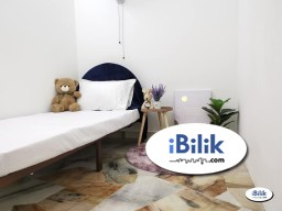 Room Rental in Kuala Lumpur - RM1 for 2nd Month 💥 Single Room Taman Connaught, Cheras Near LRT Station
