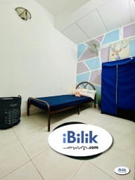 Room Rental in Petaling Jaya - ONE Month Deposit ❗ Single Room at BU11, Bandar Utama with High Speed WI-FI  ( EASY Access to SS7 )