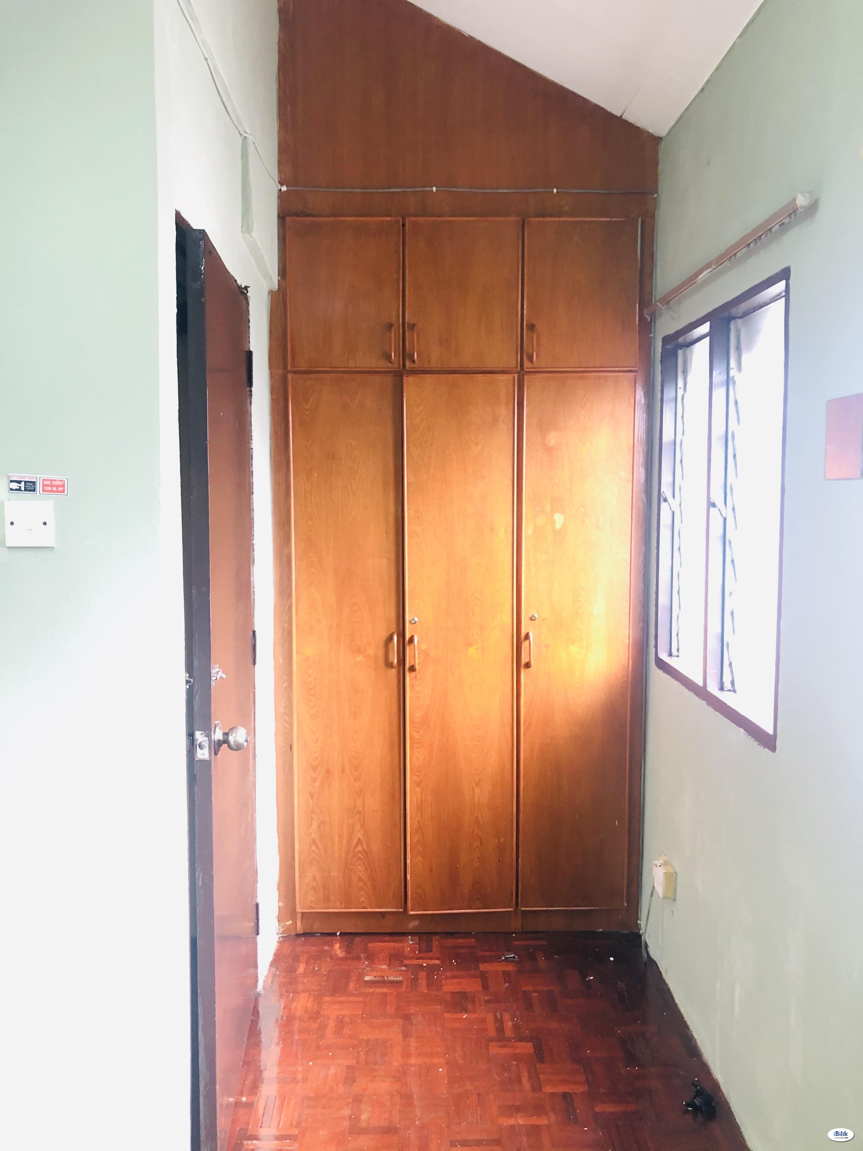 [Avail 15Jul/Incl Utility/Female Hse] Single Room at Desa Setapak @ 5-mins walk LRT Wangsa Maju