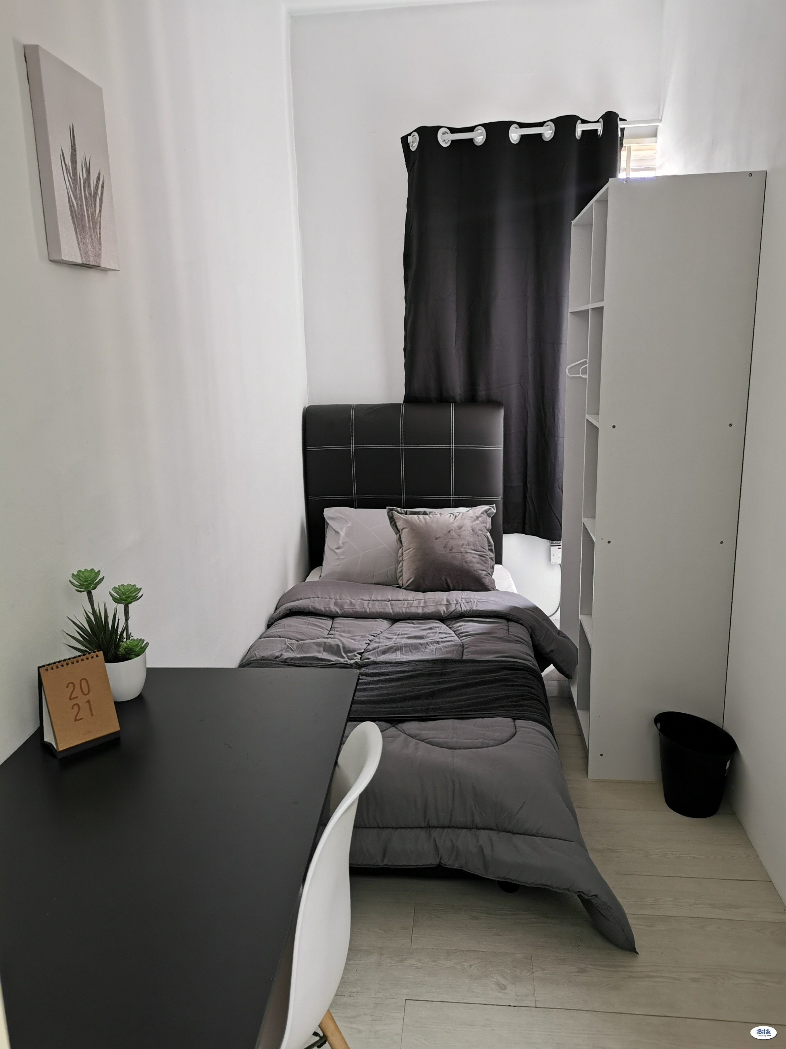 Single Room at Angkasa Condominiums, Cheras