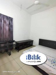 Room Rental in Selangor - ⬛⬜ Middle Room at Setia Alam, Shah Alam. Free High Speed WiFi ⚡
