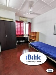Room Rental in Kuala Lumpur - RM1 for 2nd Month ⚠️ Single Room Taman Connaught, Cheras